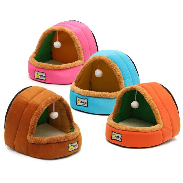Foldable kennel dog bed for dogs cats animals pet house tent