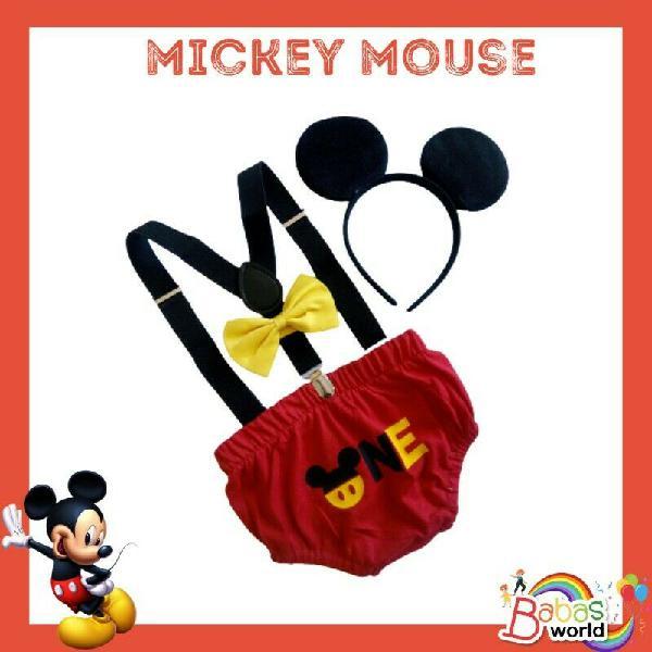 Mickey Mouse Cake Smash Set for Boys