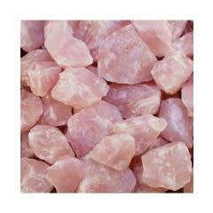 A-grade pastel pink Rose Quartz Rough 500grams