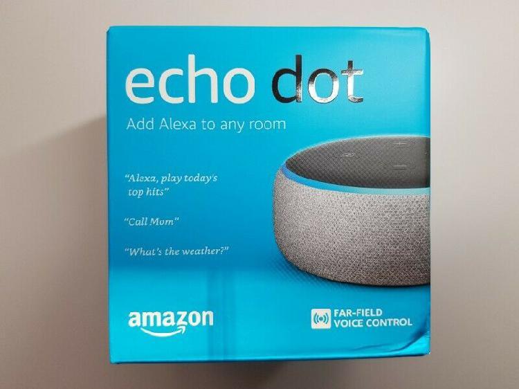 Amazon Echo Dot (3rd Gen) – Smart speaker with Alexa  