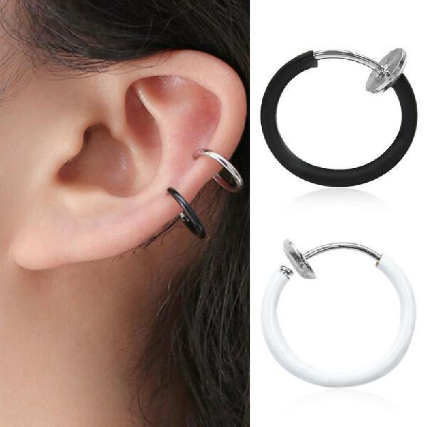 Fashion earring clip nose rings lip nail multipurpose