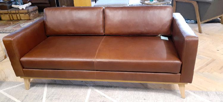 Leather couch promotion