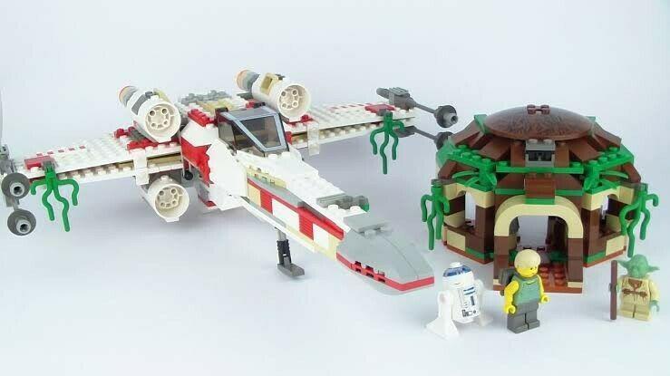 Star Wars X Wing Fighter Dagobah