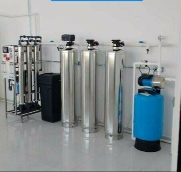 Commercial industrial water purification plants supplies and