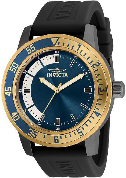 Invicta mens specialty 45mm silicone quartz watch 35779
