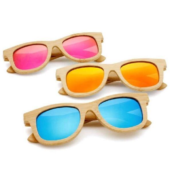 Bamboo polarised sunglasses