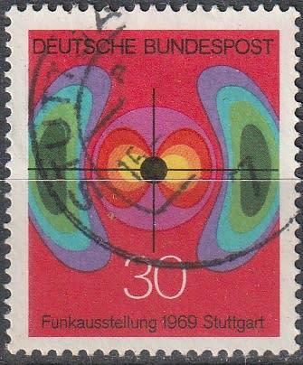 Germany 1969 radio and television exhibition ulh cv r11 sg
