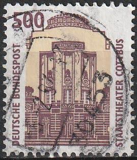 Germany 1993 sightseeing ulh cv r52.80 sg 2220b
