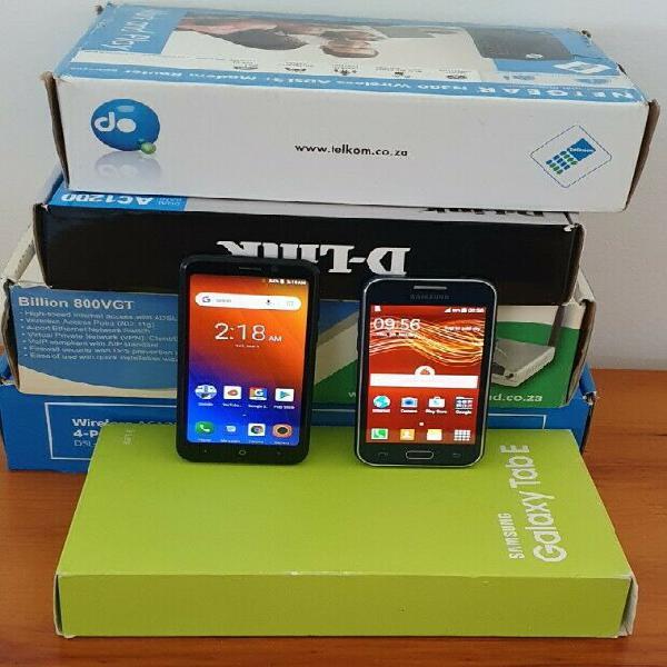 Lot phones routers tablet read description