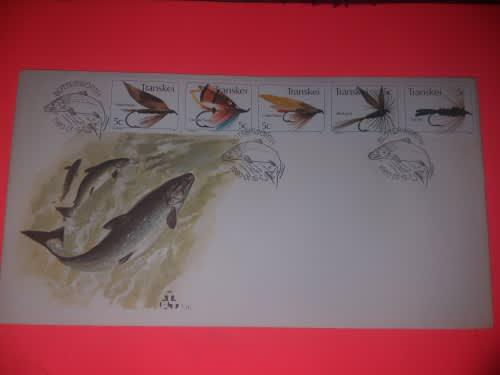 Sa first day issue butterworth transkei stamps