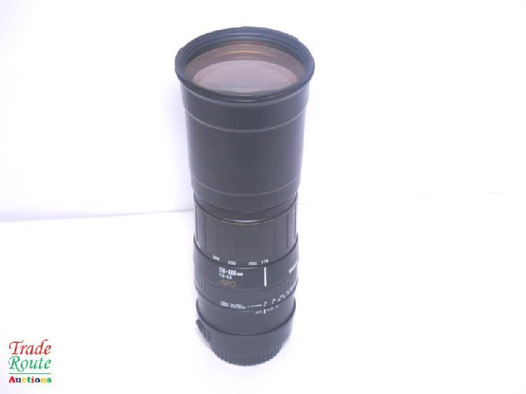 Sigma 170-500mm f5-6.3 apo aspherical telephoto zoom lens