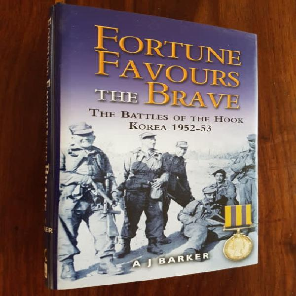 Fortune favours the brave the battles of the hook korea