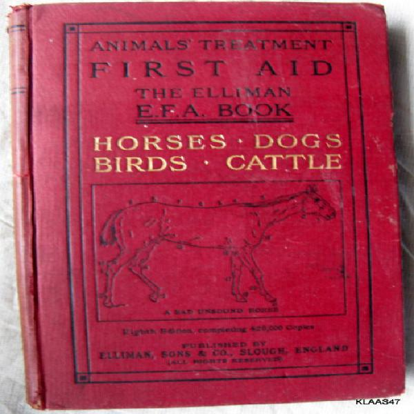 Horses dogs birds & cattle (animals treatment first aid the