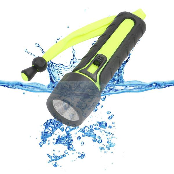 110lm 3w led diving flashlight waterproof underwater torch