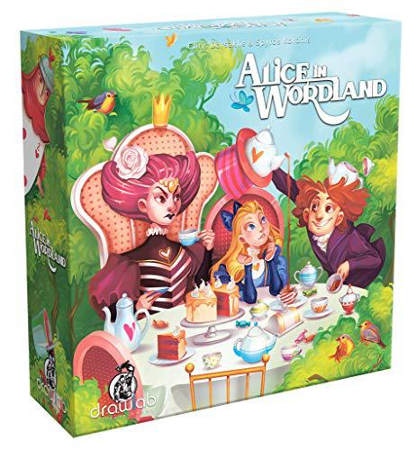 Drawlab games alice in wordland - a social word game for 3-8