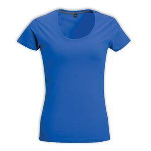 Ladies fashion fit sports shirt - m / electric blue