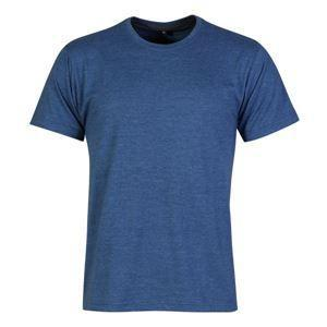 Mens fashion fit sports shirt - xs / mid blue melange