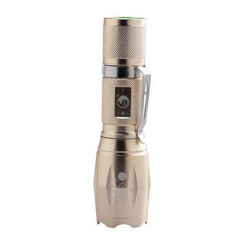 U king zq-x1017 t6 1000lm zoomable led flashlight 18650