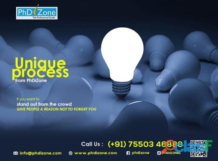 Get professional thesis writing service | phdizone