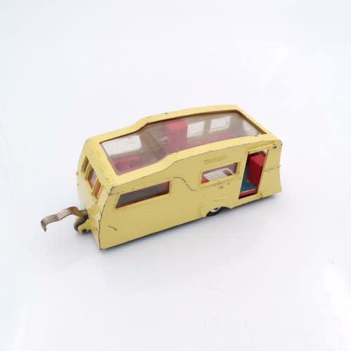 Rare vintage dinky toys four berth caravan maccano!!!