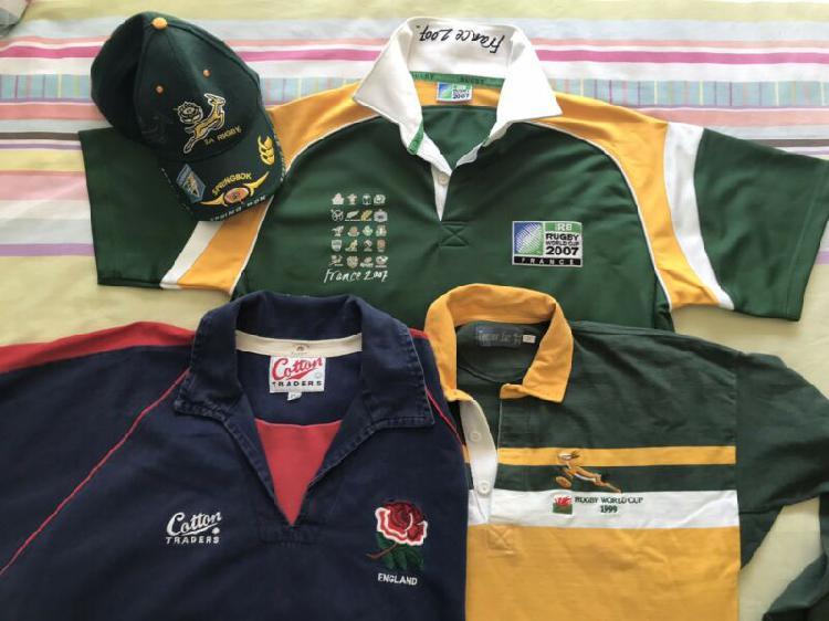 2007 irb world cup springbok shirt, 1999 wales springbok
