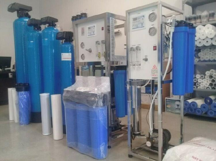 Water purification equipment for borehole & municipal water