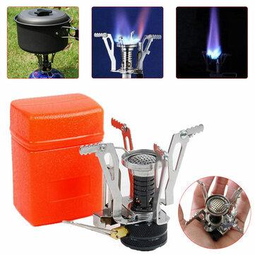 Outdoor mini folding stove camping picnic cooking stove