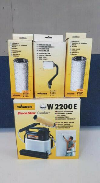 Wagner 2200 electric paint roller with accesories New