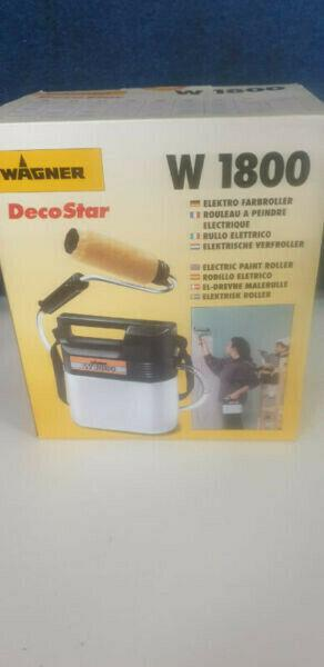 wagner electric paint roller w1800 new