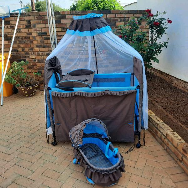 Cot and carry chair for sale