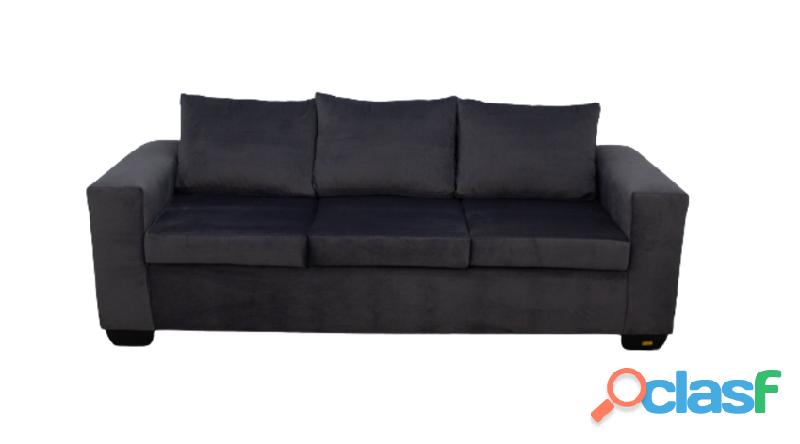 Buy Jody 3 Seater Sofa   Grey   Velvet   HG BAVA CC