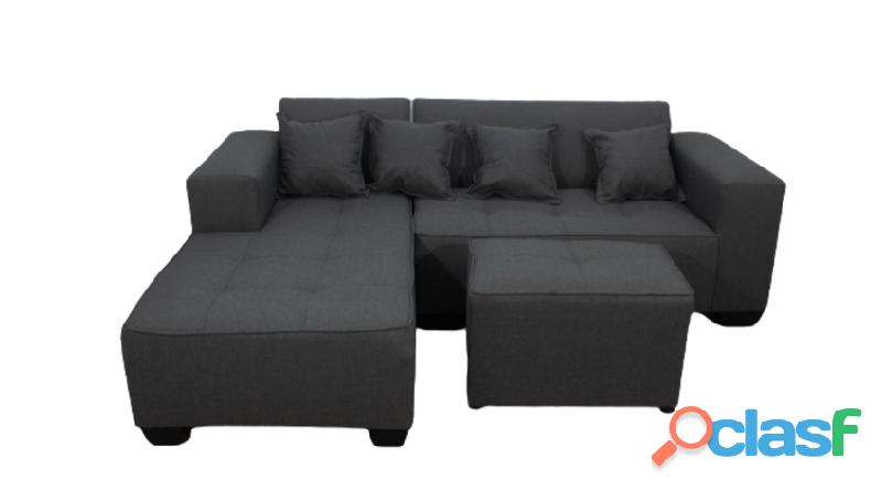 Buy Shona 3 Seater Combo – Grey   HG BAVA CC