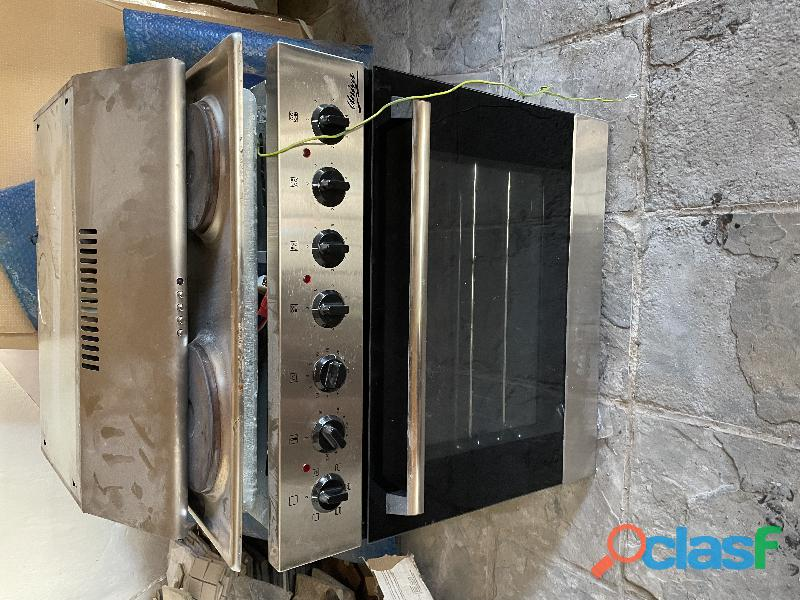 Kitchen appliance hob extraction fan and oven