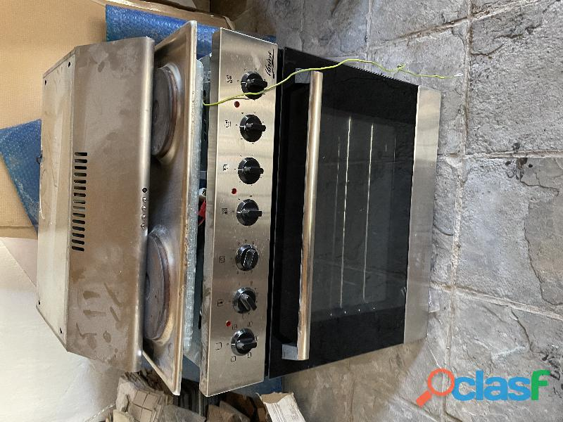 Kitchen appliance hob extraction fan and oven 2