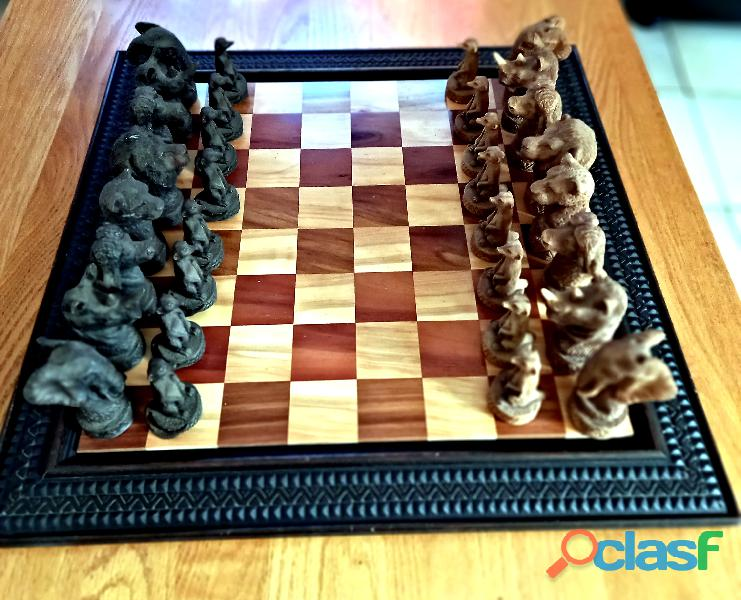 "Large ""Big Five"" Chess Set 1"
