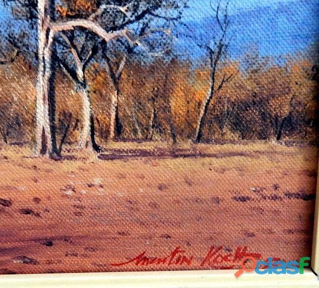 Martin Koch Painting  1983 1