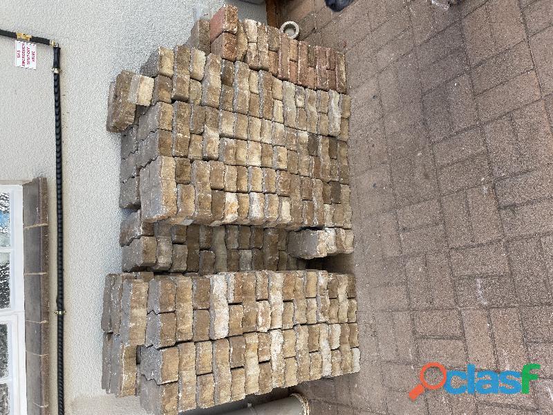 Paving bricks used 1