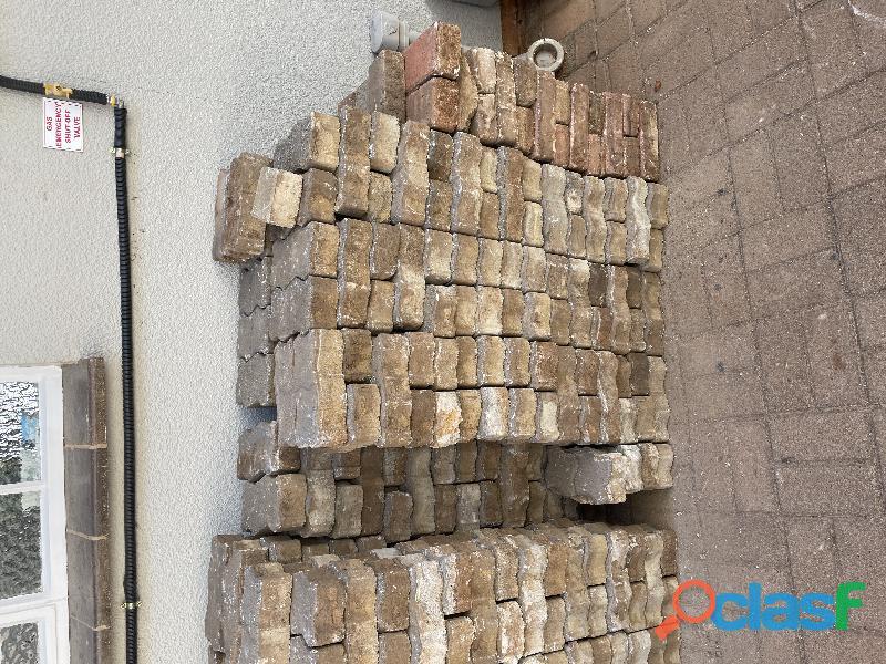 Paving bricks used 2