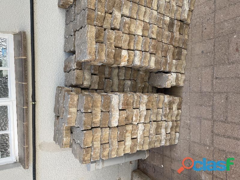 Paving bricks used 4