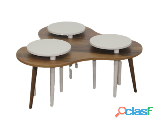 Buy Nilufer Solid Wood Coffee Table | HG BAVA