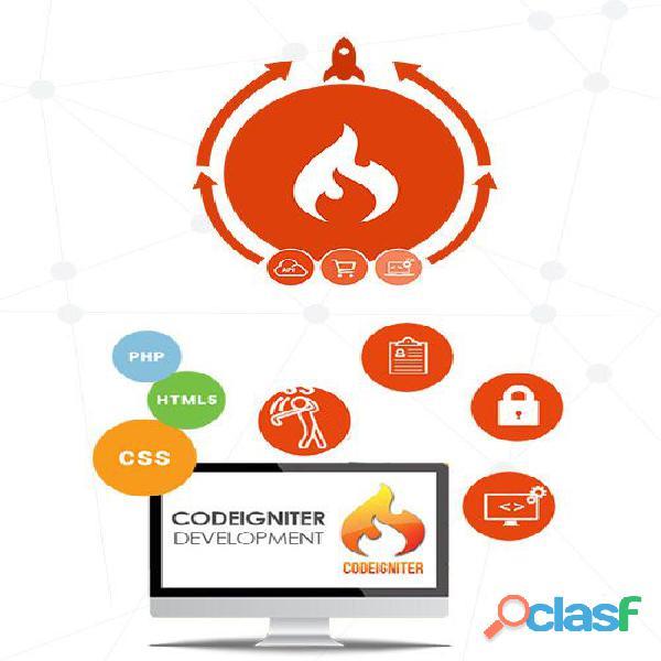 Codeigniter applications development