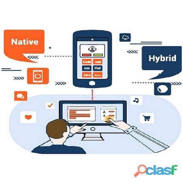 Hybrid applications development