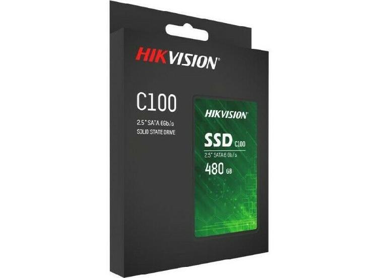 "Hikvision hs-ssd-c100/480g c100 480gb 3d tlc sata 6gb/s 2.5"""