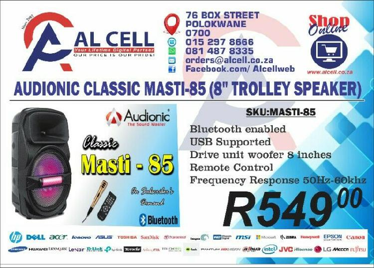 "Audionic classic masti-85 (8"" trolley speaker)"