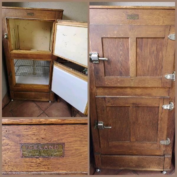 Antique fridge cooler