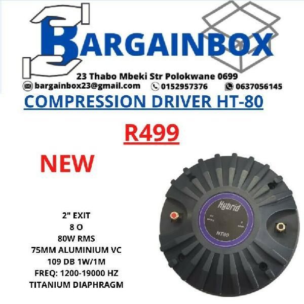 Compression driver ht-80