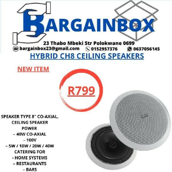 Hybrid ch8 ceiling speakers