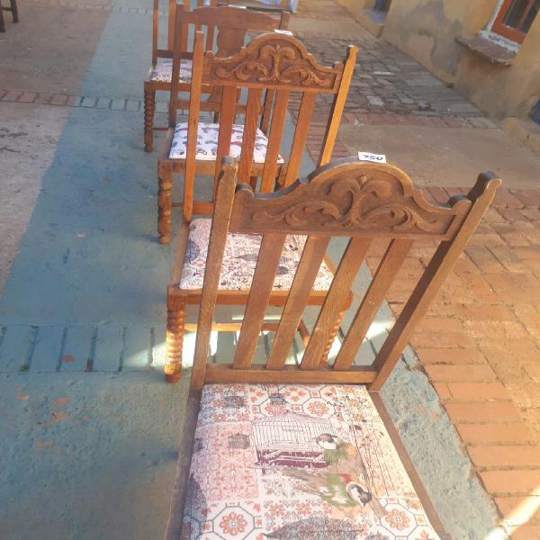 Oak chairs 4